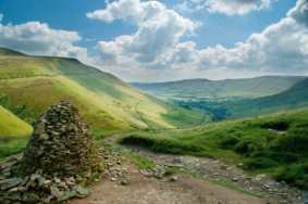 Edale Valley in England