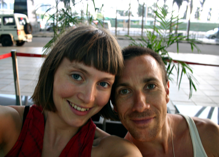 Photo of Joey Miles and Rachel Woolhouse of Ashtanga Yoga Leeds