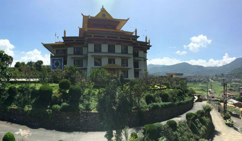 Tibetan Buddhist monastery in Nepal