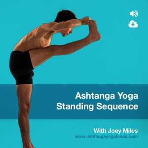 Ashtanga Standing sequence download with Joey Miles